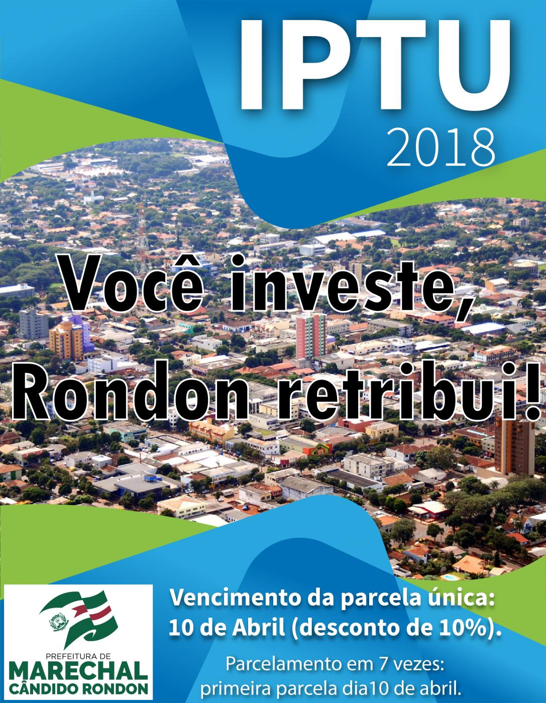 Prefeitura Municipal iniciará distribuição de carnês do IPTU na próxima terça-feira