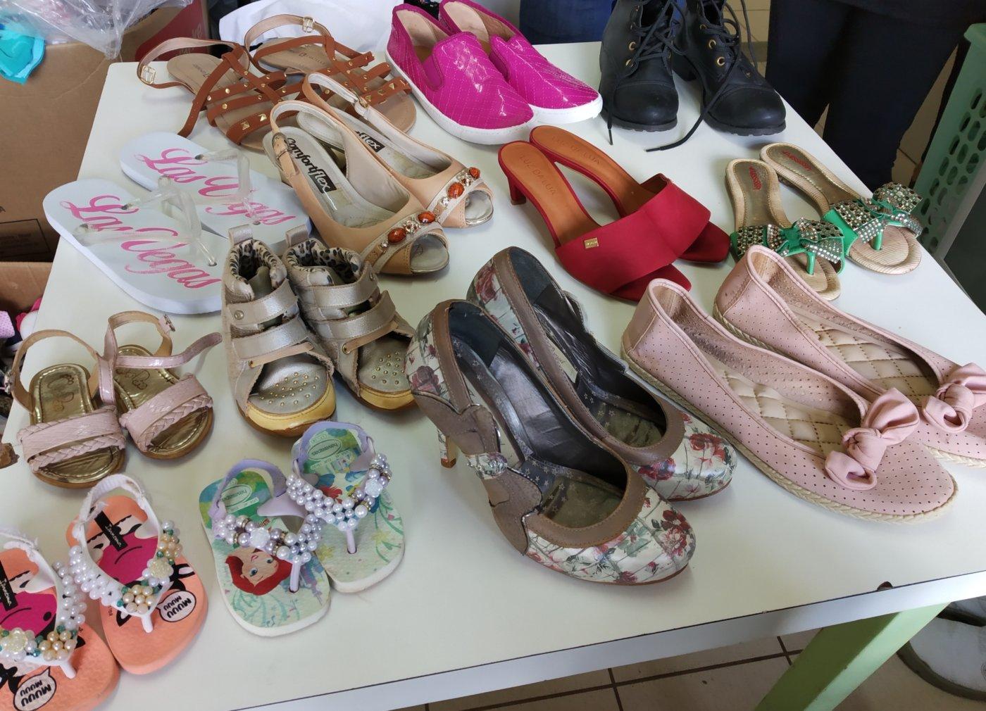 7c8fb4efdc Cmei Vila Gaúcha promove bazar de roupas e calçados  preços variam entre R   1 e R  10
