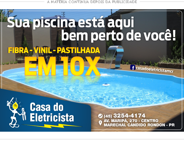 Casa do Eletricista PISCINAS