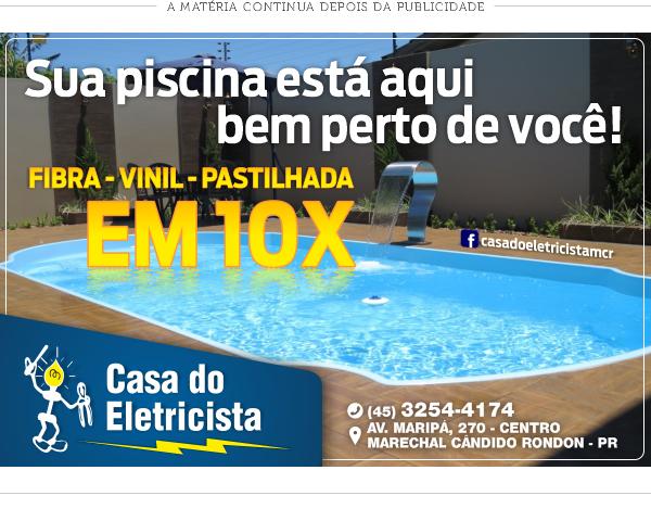 Casa do Eletricista PISCINAS