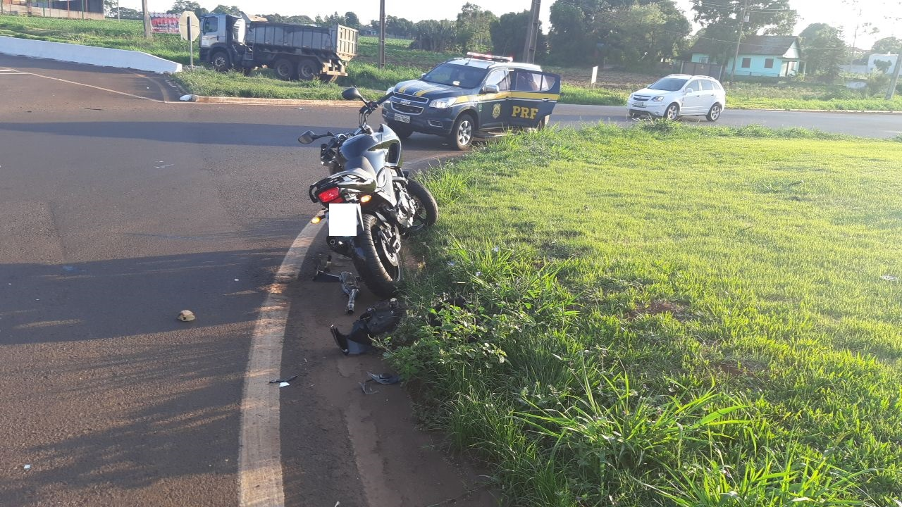 Motociclista fica gravemente ferido em acidente em Marechal Rondon - O Presente