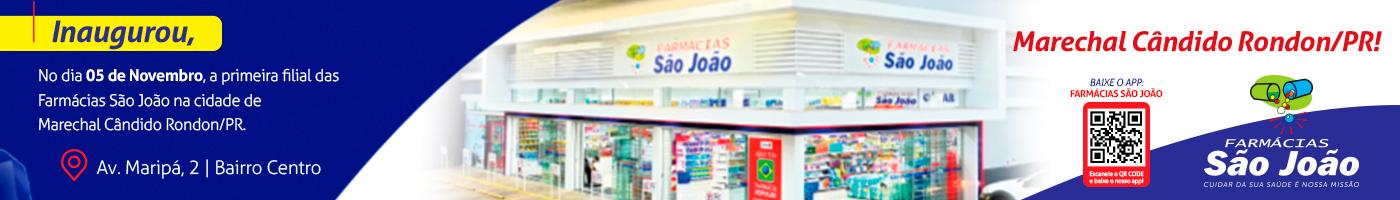 Pós-Inauguração DIA 27 Farmácias São João
